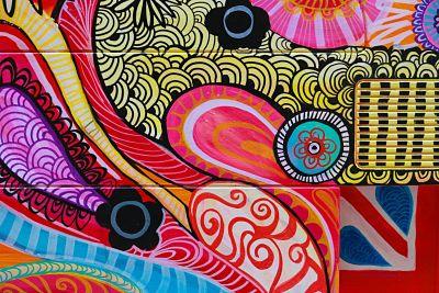 abstract street art