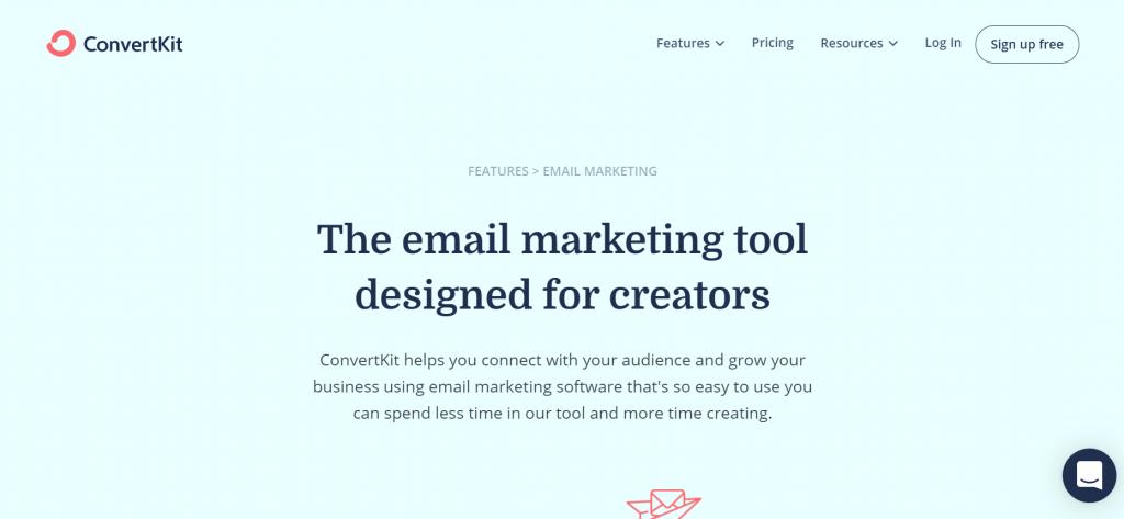 convertkit marketing tools for creators