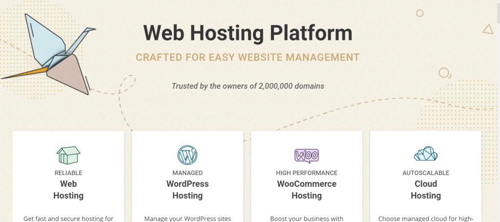 siteground hosting platform homepage