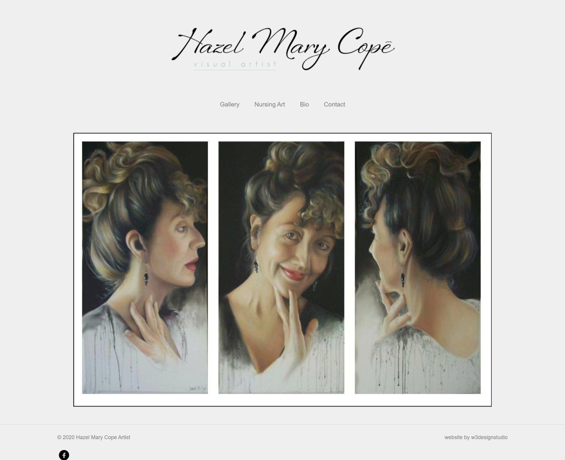 Hazel Mary Cope Self Portraits